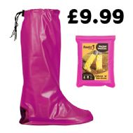Pink Pocket Festival Wellies
